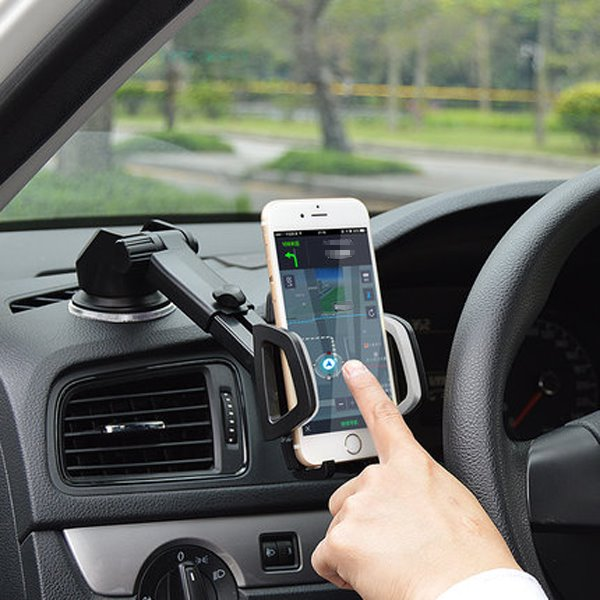 Suction Cup Base 270 Degree Rotating Car Phone Mount beddinginn