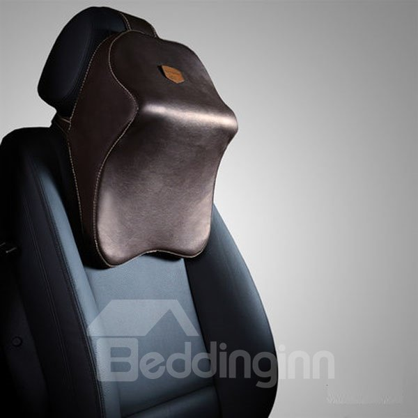 Three-Dimensional Leather Material Newest Hot Selling Car Pillow