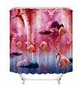 Plenty Of Flamingos Walking And Flying Print 3d Bathroom
