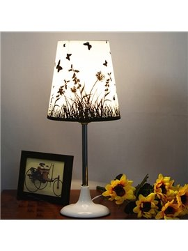 Simple Modern Butterfly Pattern Home Decorative Table Lamp