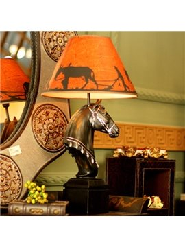Modern Creative Horse Head Decorative Table Lamp