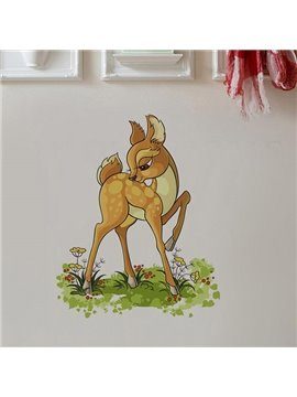 Cute Little Deer Pattern Wall Sticker