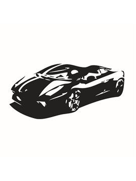 New Arrival Simple Car Pattern Wall Sticker