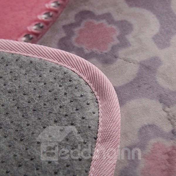 New Arrival Pink Heart Dessert Pattern Area Rugs