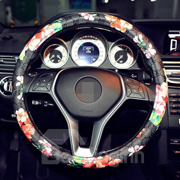 Green Resin Environment Material And Art Pattern Popular Steering Wheel Cover
