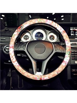 Creative Printed And Newest Popular Steering Wheel Cover
