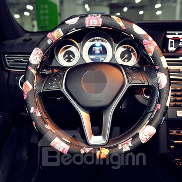 Creative Printed Green Resin Material Steering Wheel Cover