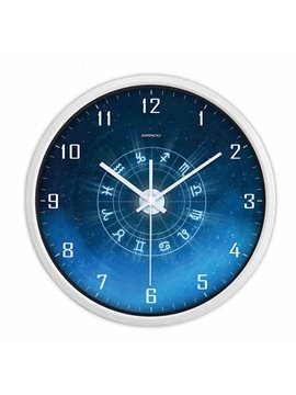 Modern Creative Bight Blue Constellation Wall Clock
