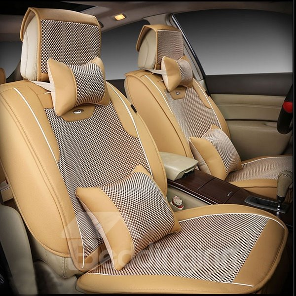 Classic Business Cooling Material Personality Car Seat Cover