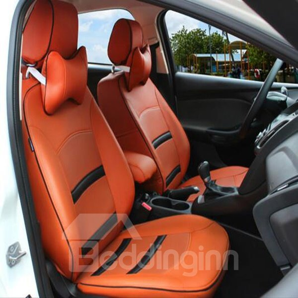 Classic Sport Style And Leather Material Custom-Fit Car Seat Cover