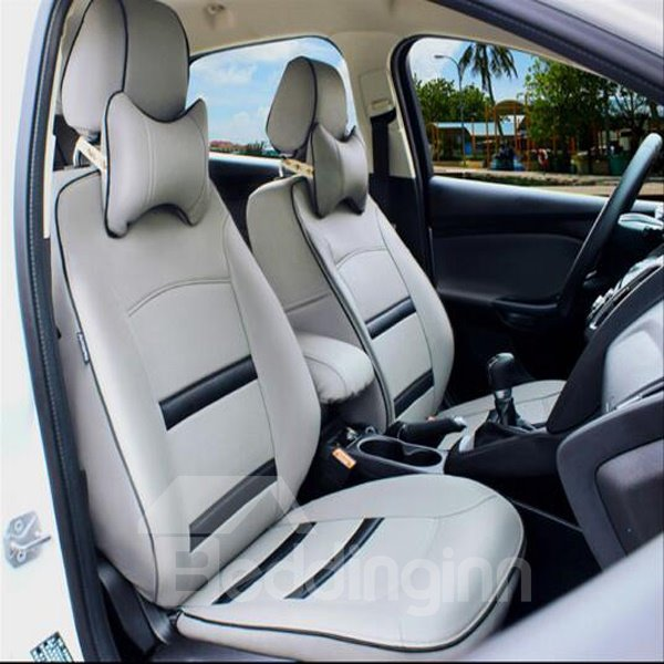 Classic Sport Style And Leather Material Universal Car Seat Cover