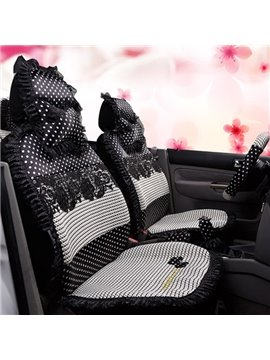 Comfortable And Soft Lace Pattern Universal Car Seat Cover