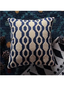 Popular and Simple Pattern Print Throw Pillowcase