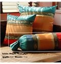 Fabulous Ethnic Style Contrast Color Candy Shape Pillow
