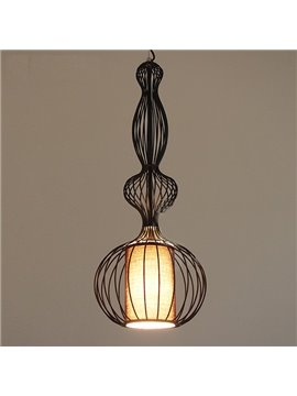 Black Classic Round Curve Design Ceiling Lights
