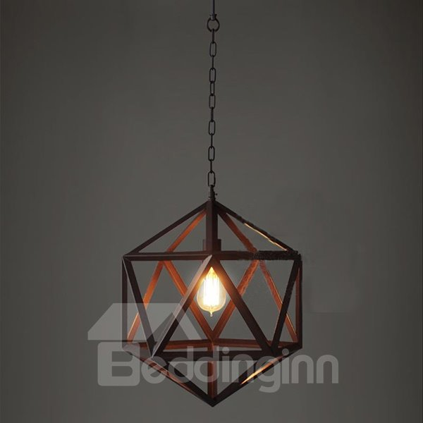 Creative Classic Hexahedron Shape Ceiling Lights