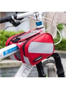Bike Waterproof Frame Front Tube Pannier Cycling Saddle Bag