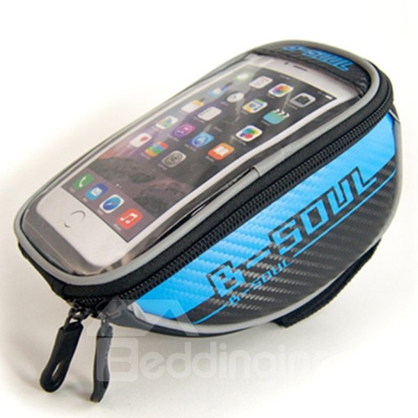 Bike Bag Cycling Bicycle Bike Frame Bags Top Tube Handlebars Bag