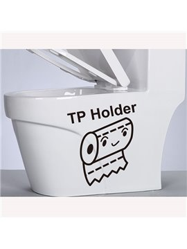 New Arrival TP Holder Wall Stickers for Home Decoration