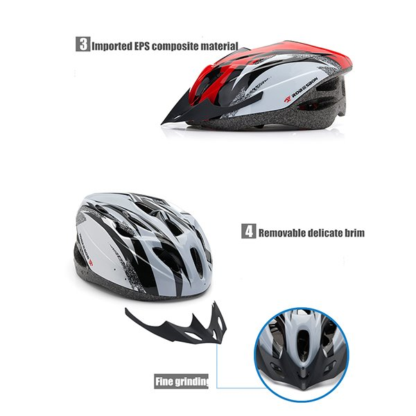 18 Flow Vents Road Cycling Adjustable Mountain Bike Helmet