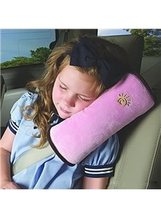 Top Selling Pink Color Thick Comfortable Seat Belt Cover