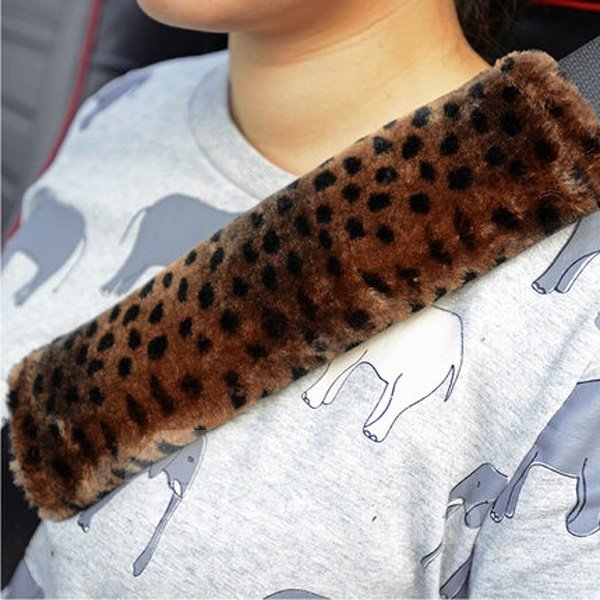 Leopard Style And Most Comfortable Seat Belt Covers