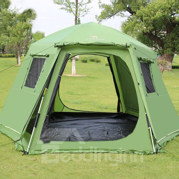 8 Person Waterproof Screened Big Outdoor Camping Tent