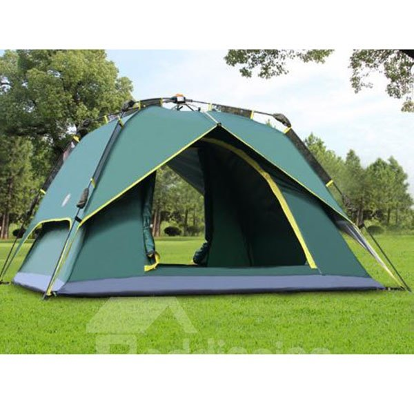 3-4 Person Automatic Double Layers Instant Camping