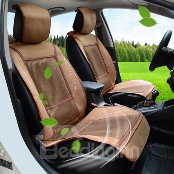 New Arrival PU Material And Heating Single Car Seat Cover