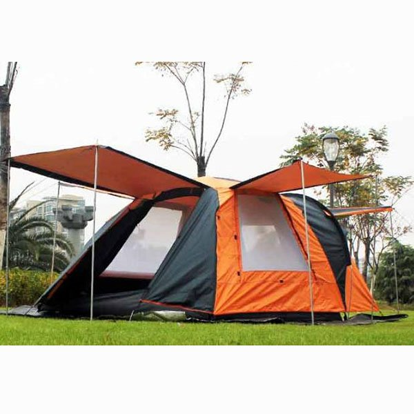 3-4 Person One Bedroom and One Living Room Waterproof Big Camping Outdoor Tent