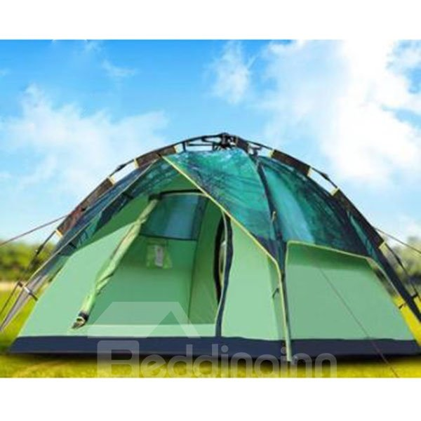 3-4 Person Green Dreamlike Galaxy Waterproof Camping Outdoor Tent