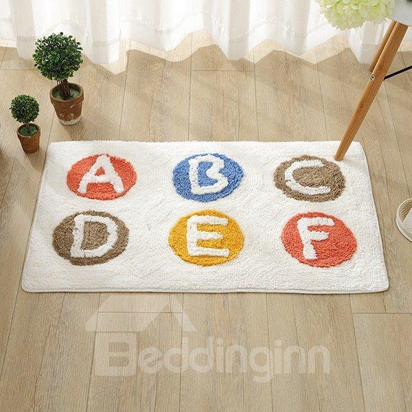 Simple Letter Pattern Home Decorative Doormat