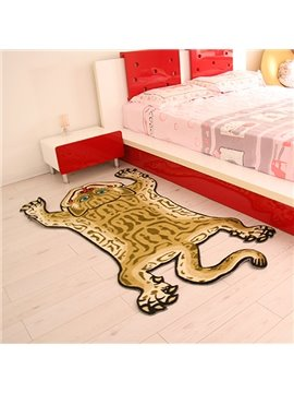Creative Tiger Shape Home Decorative Area Rug