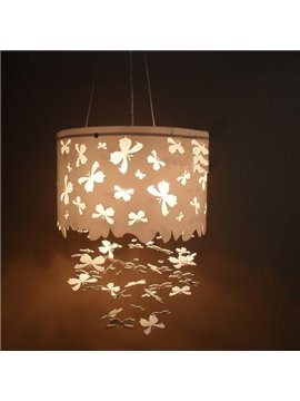 Romantic Acrylic Butterfly Pattern Home Decorative Ceiling Light