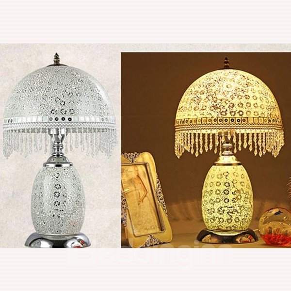 Gorgeous Hand Made Glasses Dimming Table Lamp