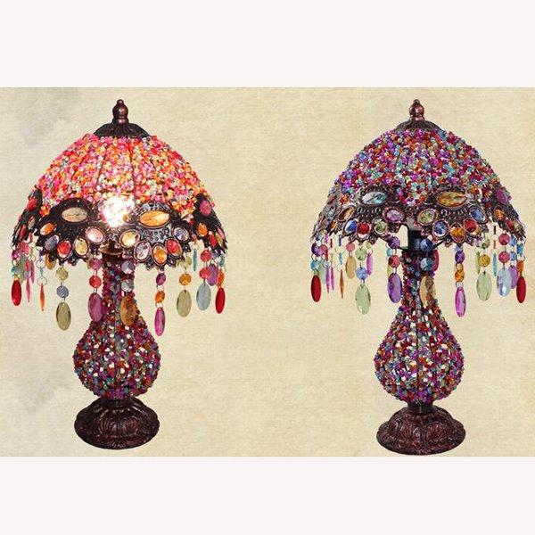 Beautiful Bohemian Style Pearl Table Lamp