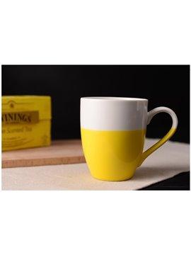 Creative Half Tone Coffee Mugs for Home Decoration