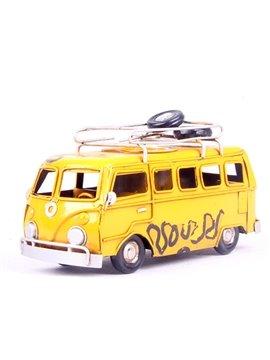 Cute Creative Bus Desktop Decoration