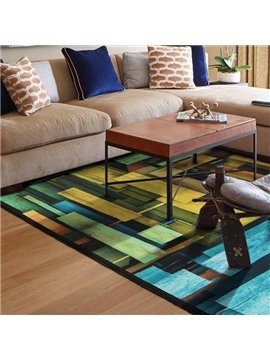 Creative Mediterranean Style Area Rug for Home Decoration