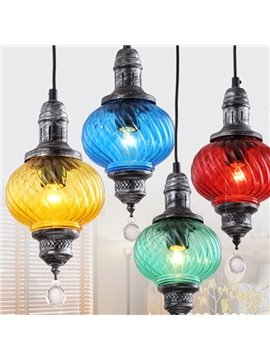 Colorful Round Bardian Ceiling lights for Home Decoration