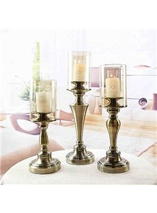 Romantic Simple European Style Candle Holders for Home Decoration