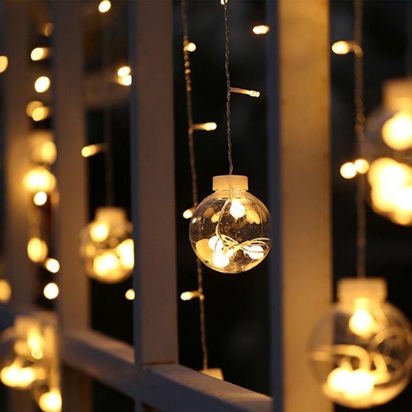 String Lights At Night : Decorative 3 Meter Indoor Outdoor String Night Lights - beddinginn.com