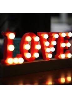 Amazing Decorative Romantic LOVE Shape LED Lights