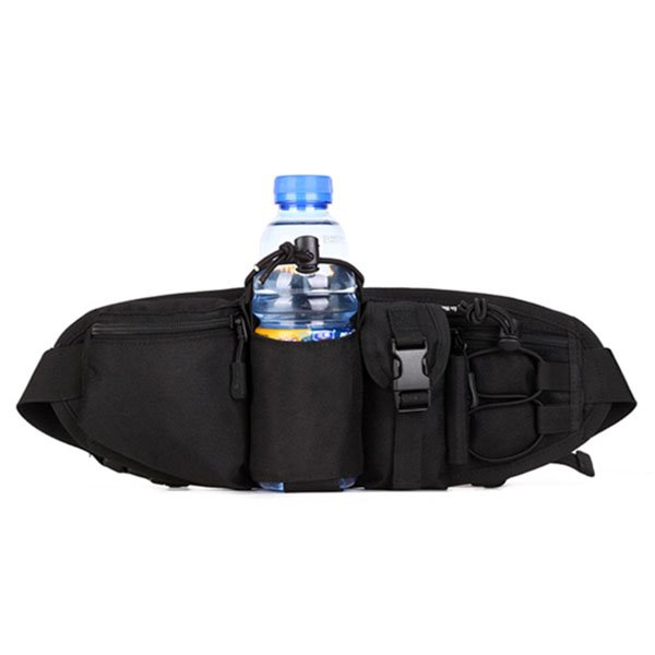 Outdoor Slim Deployment Sports Running Bag with Water Bottle Holder