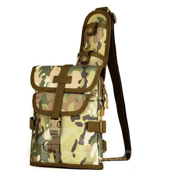 Single Shoulder Crossbody Chest Bag Outdoor Camping Trekking Daypack