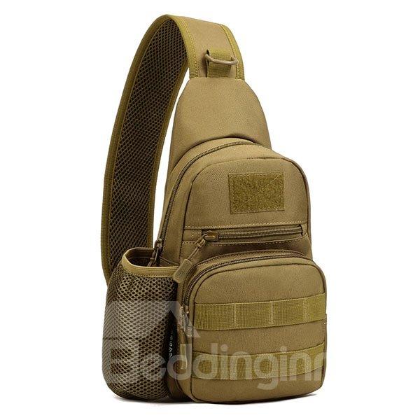 Lightweight Single Shoulder Unbalance Satchel Outdoor Chest Bag Daypack