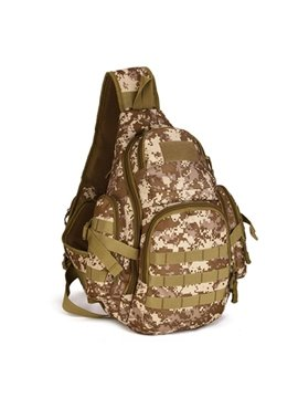 Triangle Military Backpack Tactical Single Shoulder Outdoor Camping Hiking Trekking Daypack
