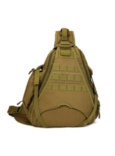 Triangle Tactical Military Backpack Single Shoulder Unbalance Satchel Outdoor Daypack