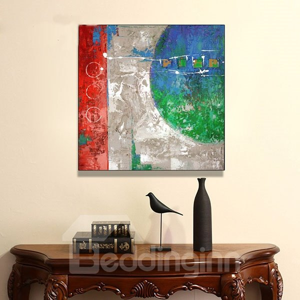 Creative Abstract Hand Painted Oil Painting for Home Decoration 12154370