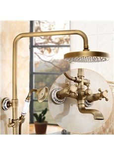 European Style Vintage Antique Brass Shower Heads